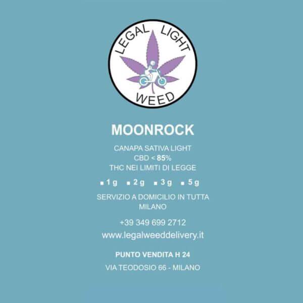 Moonrock: Erba CBD Delivery a Milano