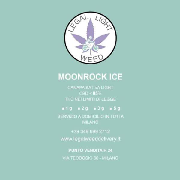 Moonrock Ice: Erba CBD Delivery a Milano